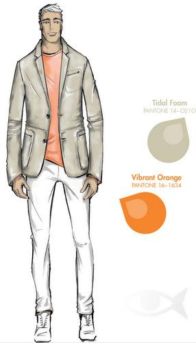 Férfi divat színek 2013