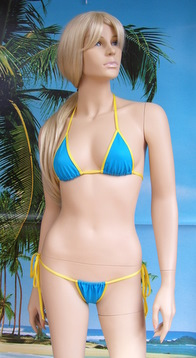 Bikini Consuelo top N5 + brasil slip aggiustabile lacci