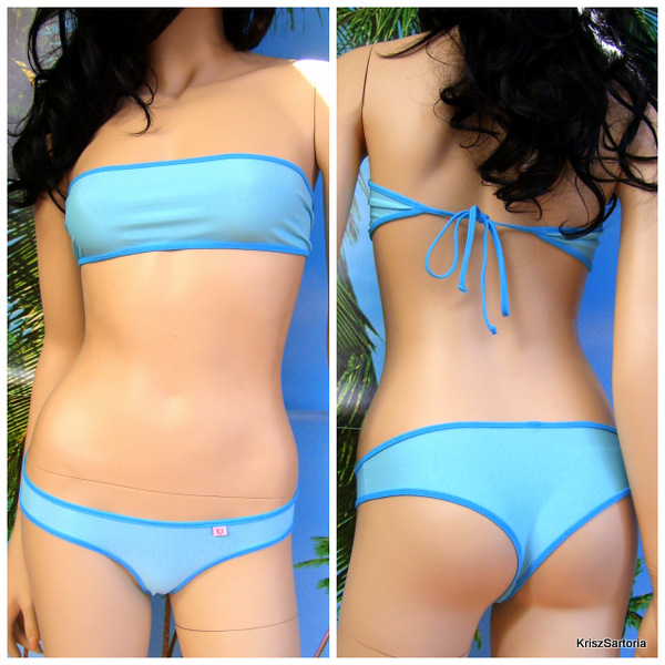 Bikini Shada Top a fascia larga 15 cm + slip shada
