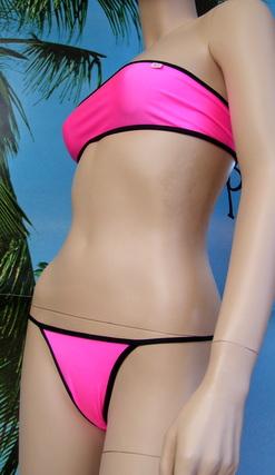 Bikini Yamka top a fascia 15 cm + brasil full slip