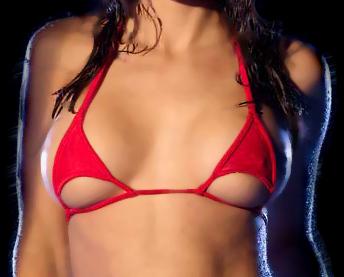 luna top bikini felső